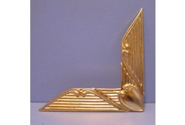 Decorative Gilt Metal Corner
