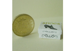 12th Scale Victorian Style Shoe box