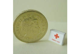 24th Scale First Aid Box