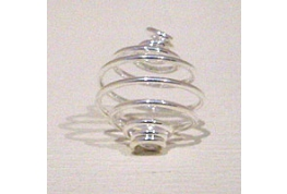 Quality 10mm Silver Plate Cage.