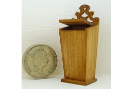 Hand Crafted Cherry Wood Candle Box