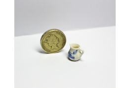 24th Scale China Milk Jug Blue & White Pattern