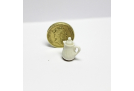 24th Scale China Coffee Pot White