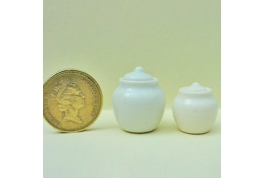 Pair Of Storage Jars