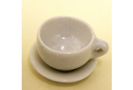 Large Coffee Cup And Saucer