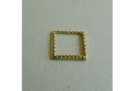 Gold Plated Decorative Square