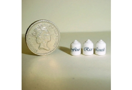 Set Of Small 1:24 Storage Jars