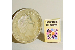 12th Scale Liquorice Allsorts Box