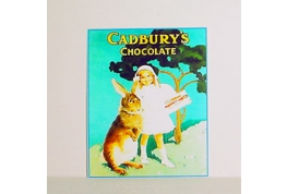 Cadbury's Chocolate Advertising Sign