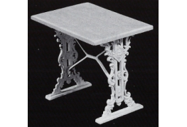 Cast Iron Effect Pub Table