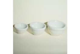 Set Of 3 Pudding Basins