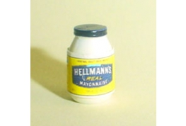 12th Scale Mayonaise Jar