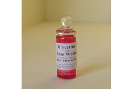 British Made Glycerine And Rose Water.