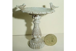 Resin Bird Bath