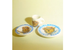 China Nursary Trio Bear Pattern
