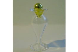 Fine Glass Jar With stopper