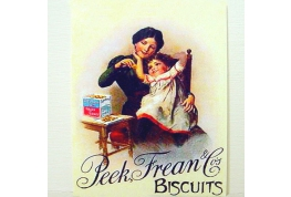1:24th Scale Peek Freans Advertising Sign