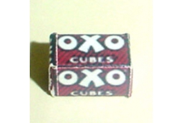 Oxo Cube Box Vintage Style