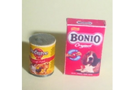 12th Scale Bonio And Chum Dog Food