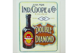 Double Diamond Pub Sign