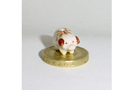 24th Scale China Piggy Bank Floral