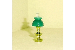 Brass Effect Table Lamp