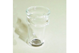 Miniature Empty Pint Glass 12th Scale