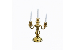 1:12 Scale Dollhouse Candle Sticks & Candles
