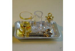 1:12 Scale Dollhouse Medical Preparation Tray