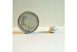 1:24 Scale Coffee Cup And Saucer