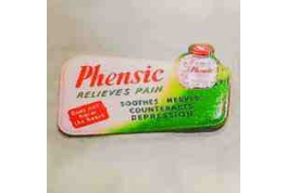 Phensic Advertising Sign