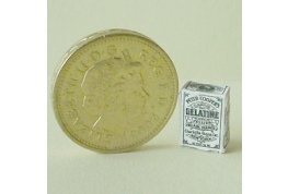1:24 Scale Victorian Style Gelatine Packet