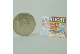 Sunlight Soap Counter Display Sign