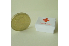 1:12 Scale First Aid Box