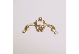 Brass Bell Pull Jewellery Finding