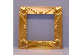 Brass Frame With Heart Corners