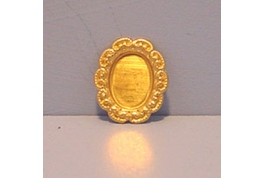 Fancy Oval Brass Setting