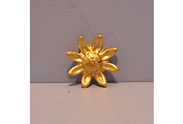 Small Brass Sunflower