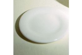 White China Side Plate