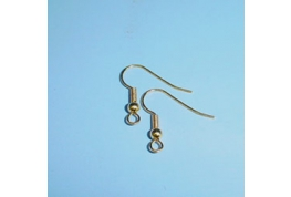 Pair Of Gold Plate Ear Wire