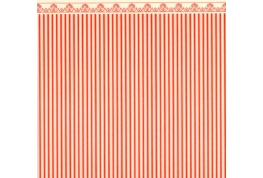 24th Scale Regency Stripe Wallpaper