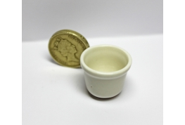 12th scale Tall White China Pudding Basin