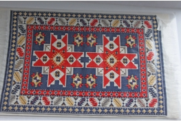 1:12  Scale Fine Woven Turkish Rug 1