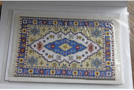 1:12  Scale Fine Woven Turkish Rug 6