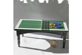1:12 Scale Table Tennis Table
