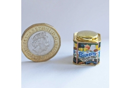 1:12 Scale Birds Custard Advertising Tin