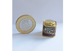 1:12 Scale Lillies Perfumed Talc Advertising Tin