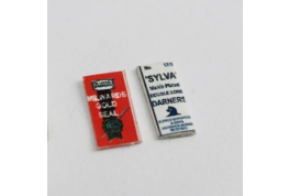 1:12 Scale Sewing Needle Packets