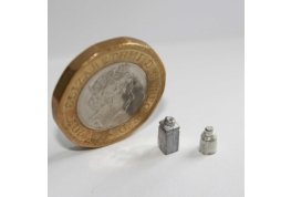 1:24 Scale Pair Of Metal Jars