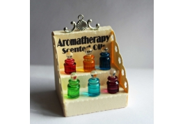 1:12 Scale Shop Counter Aromatherapy Display Box